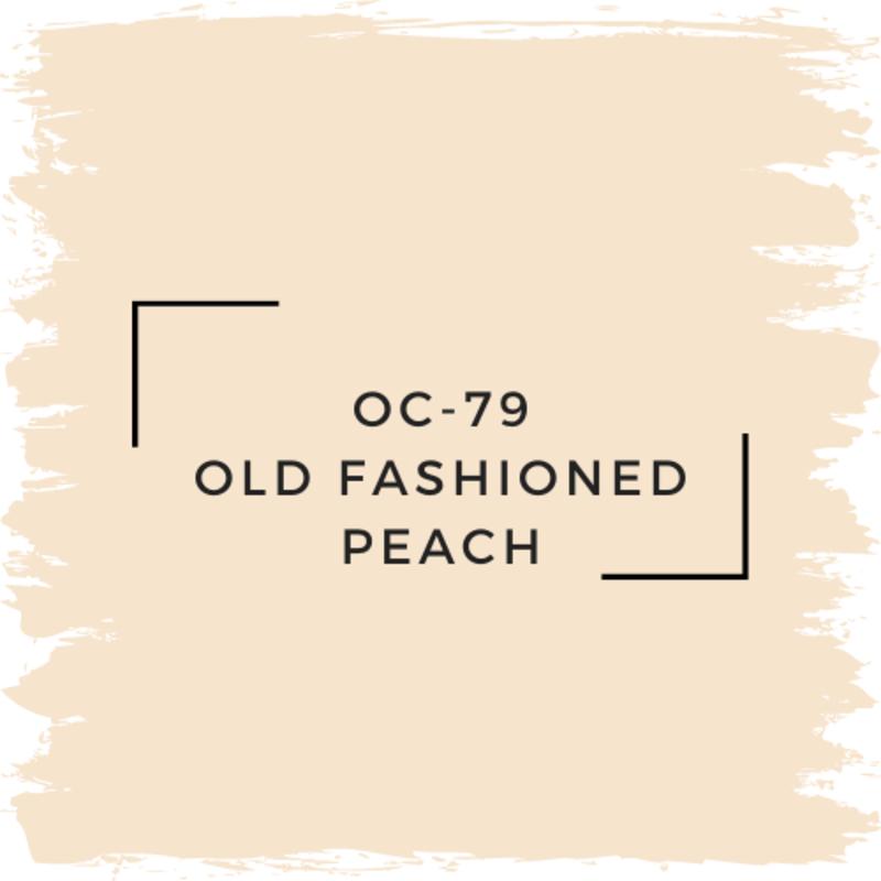 Benjamin Moore OC-79 Old Fashioned Peach