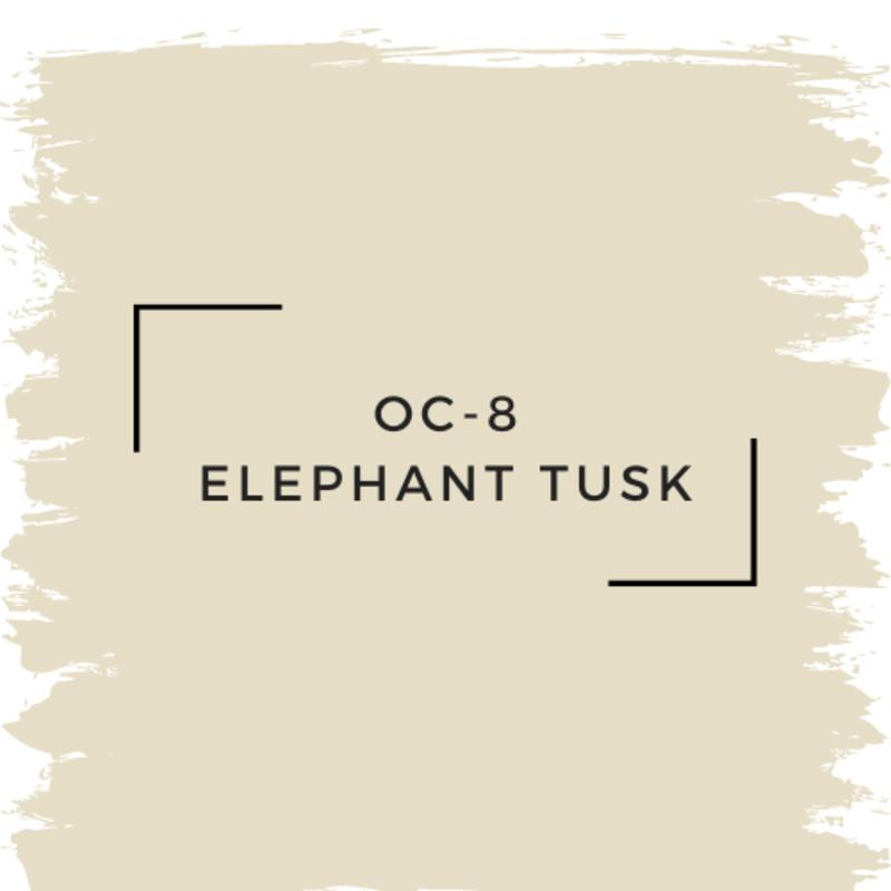 Benjamin Moore OC-8 Elephant Tusk
