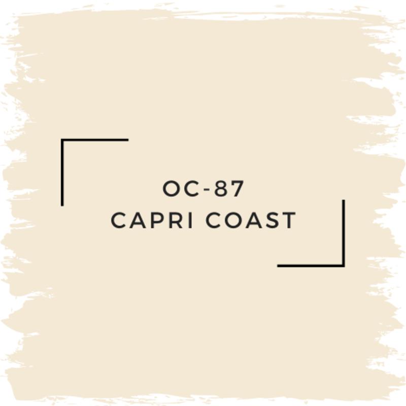 Benjamin Moore OC-87 Capri Coast