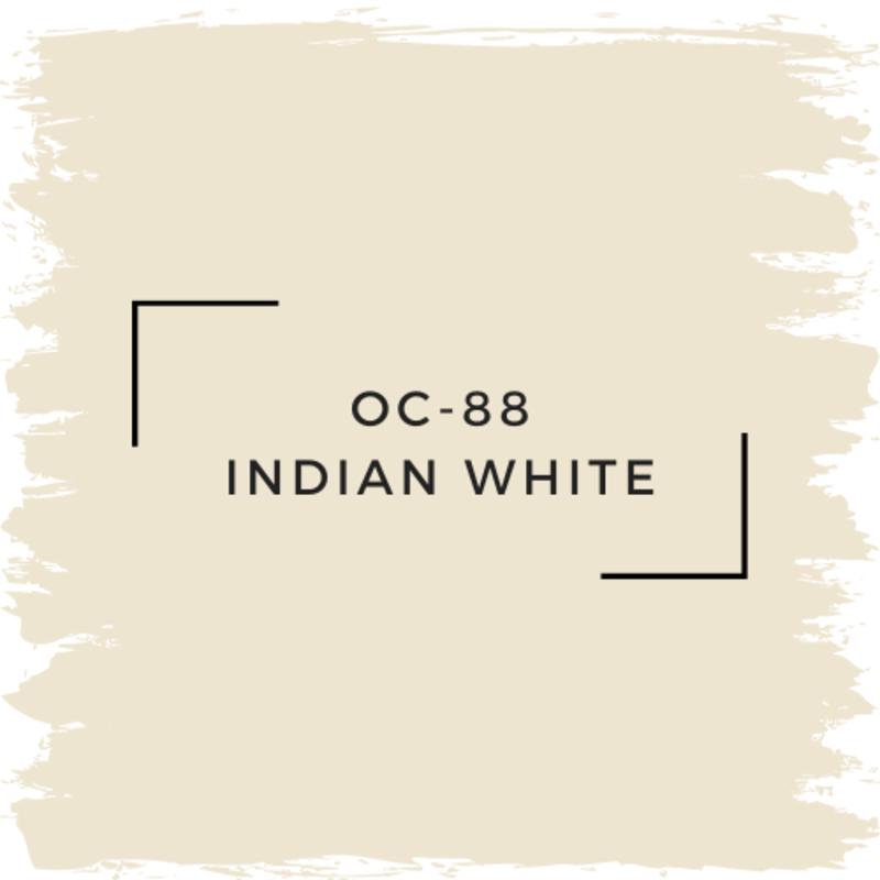 Benjamin Moore OC-88 Indian White