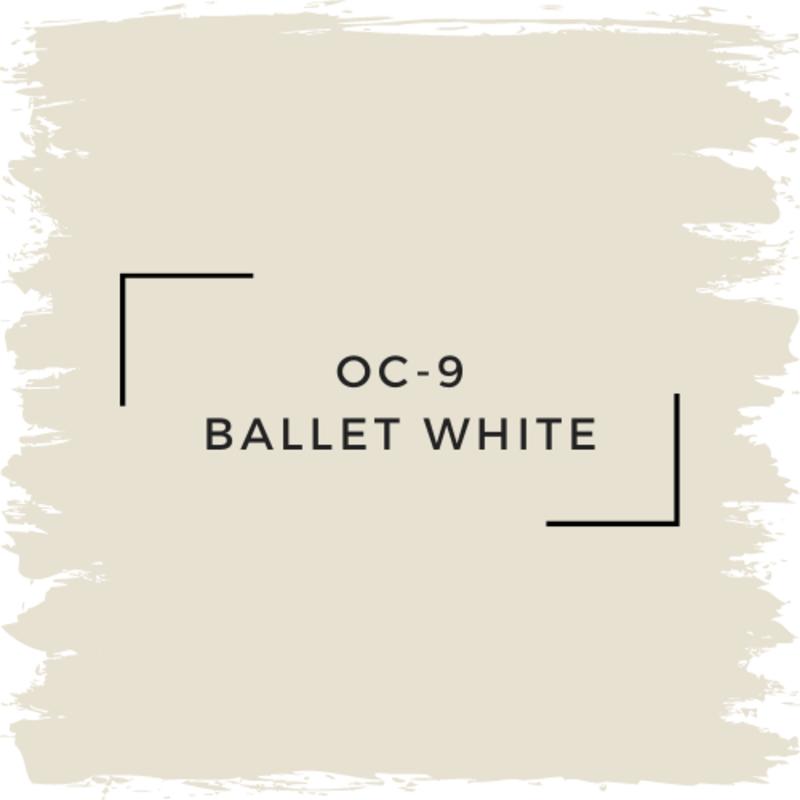 Benjamin Moore OC-9 Ballet White