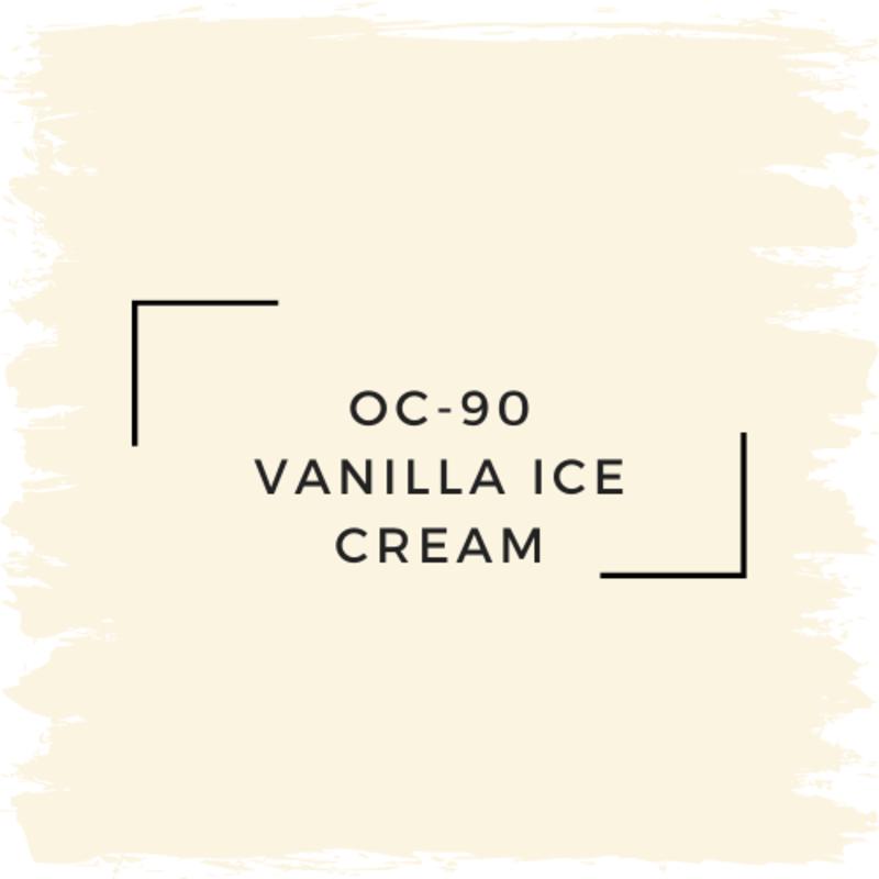 Benjamin Moore OC-90 Vanilla Ice Cream