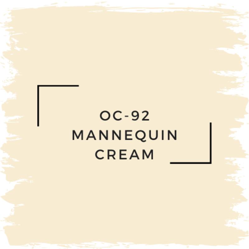 Benjamin Moore OC-92 Mannequin Cream