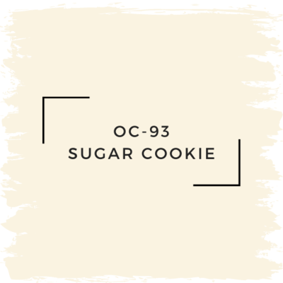 Benjamin Moore OC-93 Sugar Cookie