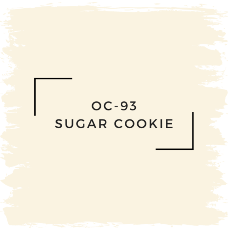 Benjamin Moore OC-93 Sugar Cookie
