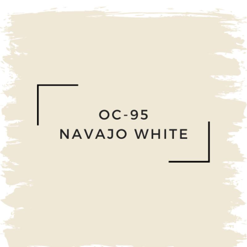 Benjamin Moore OC-95 Navajo White