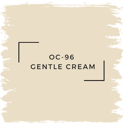 Benjamin Moore OC-96  Gentle Cream