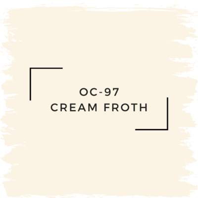 Benjamin Moore OC-97 Cream Froth