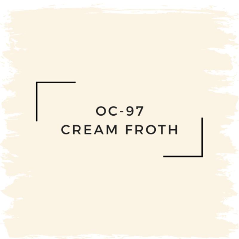 Benjamin Moore OC-97 Cream Froth