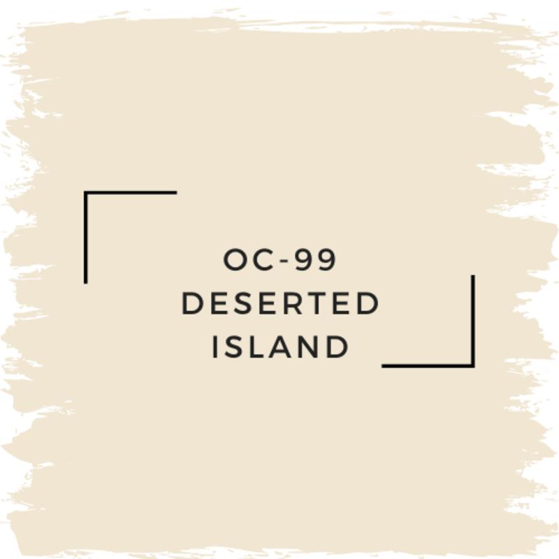 Benjamin Moore OC-99 Deserted Island