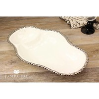 Pampa Bay 2 Section White Tray