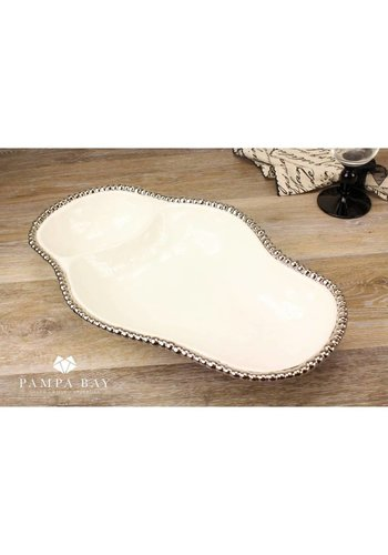 BARBAGALLO Pampa Bay 2 Section White Tray