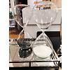 BIDK HOME Medium White Hourglass
