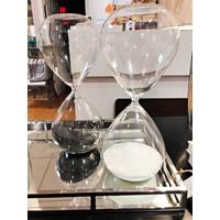 Medium White Hourglass