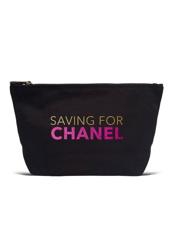 LA TRADING CO Saving for Chanel Pouch