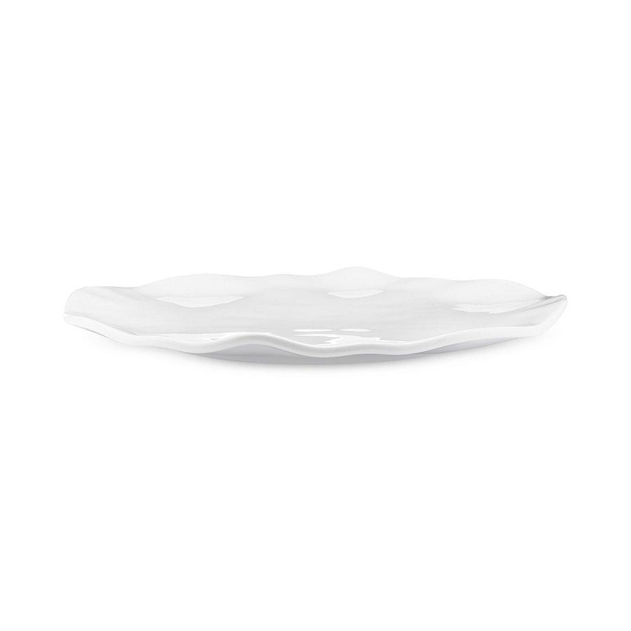 """Ruffle Melamine 16"""" Round Platter"""