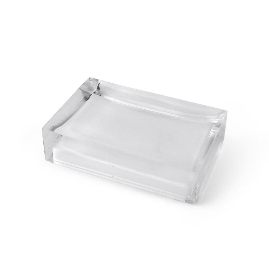 White Hollywood Soap Dish