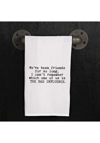SECOND NATURE BY HAND Kitchen Towel- We've been friends for so long