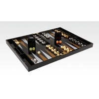 Tizo Acrylic Backgammon King Pure Black