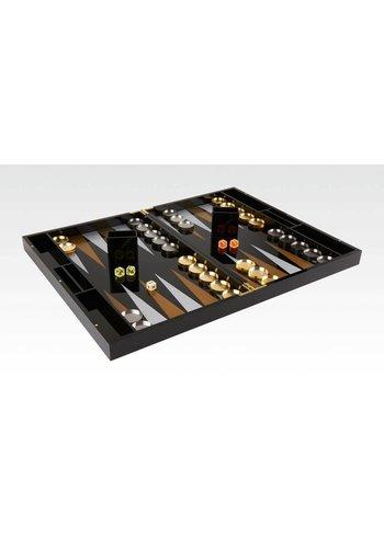 TIZO DESIGN Tizo Acrylic Backgammon King Pure Black