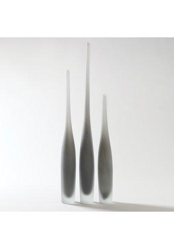 GLOBAL VIEWS Spire Bottle (Steel) - Medium
