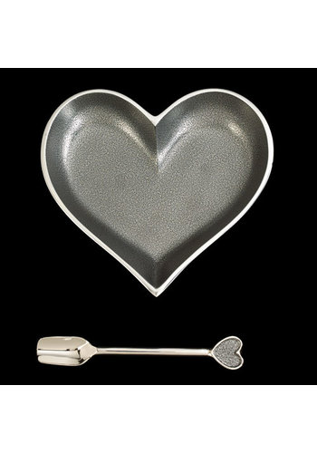 INSPIRED GENERATIONS Happy Silver Heart with Spoon