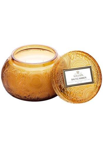 VOLUSPA Baltic Amber Chawan Bowl Candle