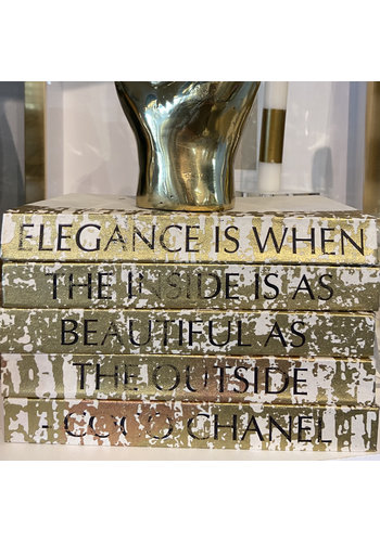 E. LAWRENCE Elegance Is When The Inside Is As Beautiful As The Outside - Coco Chanel