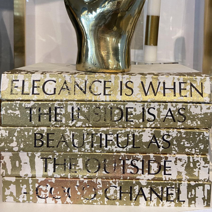 Elegance Is When The Inside Is As Beautiful As The Outside - Coco Chanel