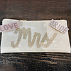 SHIRALEAH Hair Barrette: LOVE
