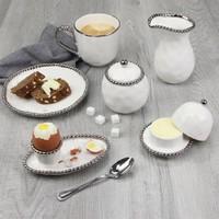 Small Creamer & Sugar Set