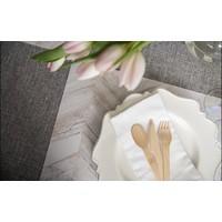 White Wash Herringbone - Placemat