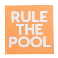 Rule The Pool - Cocktail Napkins