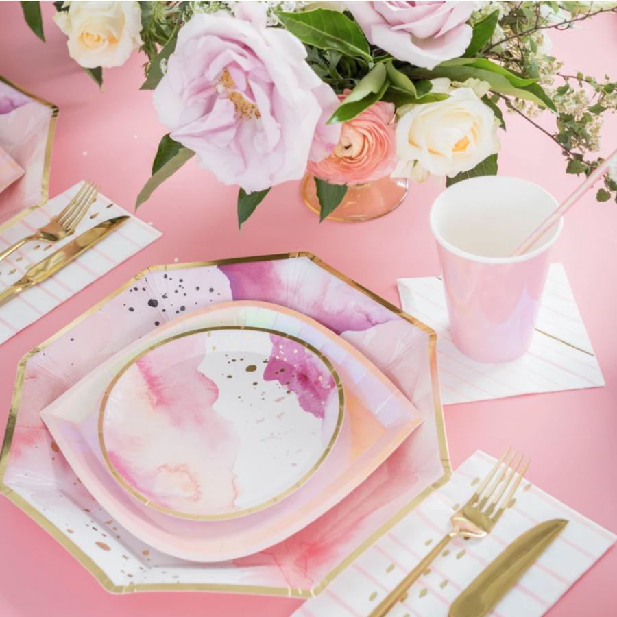 Pretty in Pink, Charger Plates
