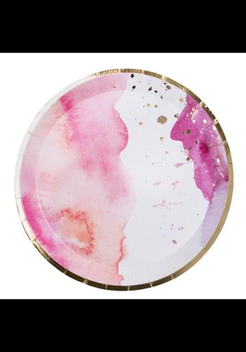 JOLLITY & CO Pretty in Pink, Dessert Plates
