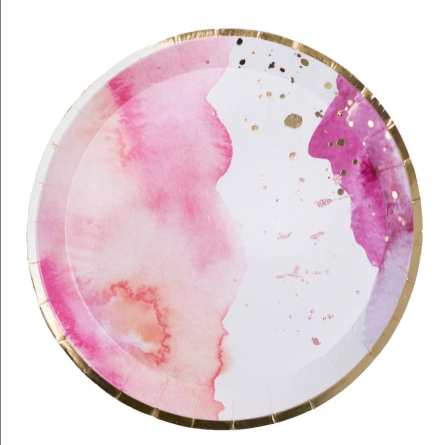 Pretty in Pink, Dessert Plates