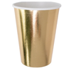 JOLLITY & CO Posh Cups, Gold To Go