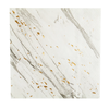 HARLOW & GREY Blanc - White Marble Cocktail Paper Napkins