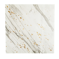 Blanc - White Marble Cocktail Paper Napkins