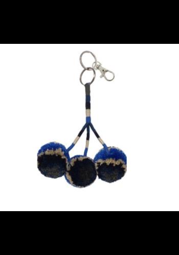 FALLON & ROYCE Pom Pom Keychain & Bag Charm