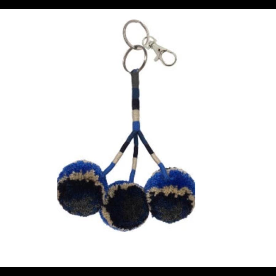 Pom Pom Keychain & Bag Charm