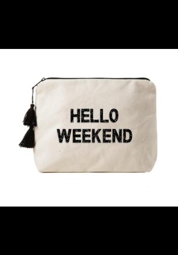FALLON & ROYCE Hello Weekend - Crystal Bikini Bag Clutch