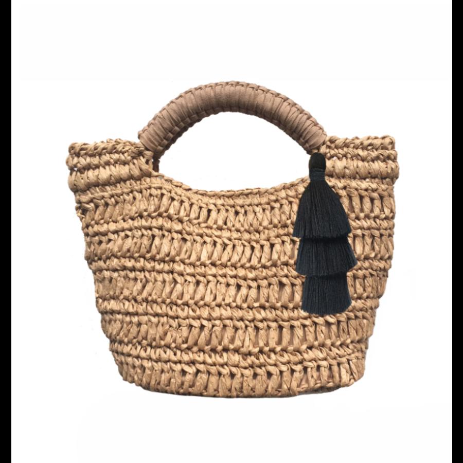 Maya- Natural Mini Bag