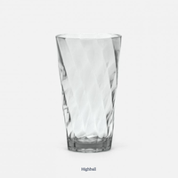 Beverly Light Gray Highball Glass