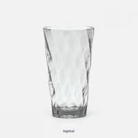 Beverly Light Gray Highball Glass