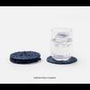 BLUE PHEASANT Gabriel Navy Coasters
