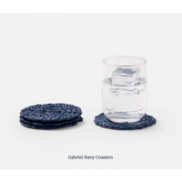 Gabriel Navy Coasters