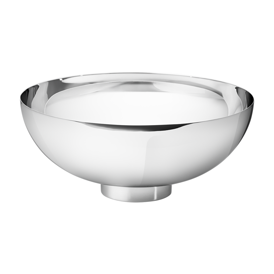 Georg Jensen Ilse Large Stainless Steel Bowl