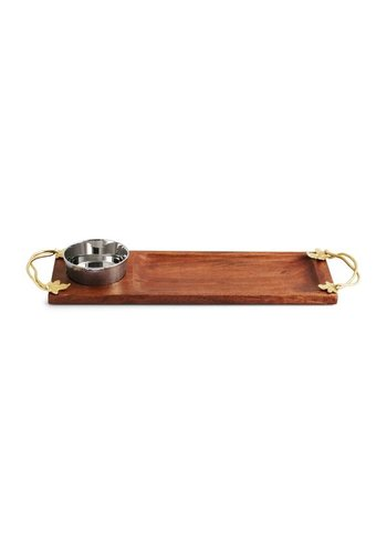 MICHAEL ARAM Olive and Oak Dipping Board