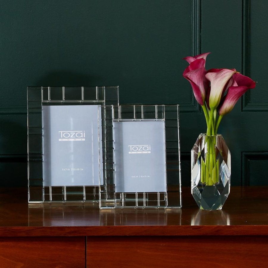 Crystal Vision Glass Picture Frames